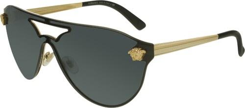 Versace Női Napszemüveg VE2161-100287-42 Black Shield - Glami.hu e163884edb