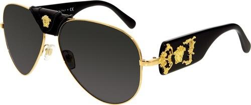 Versace Férfi Napszemüveg VE2150Q-100287-62 Gold Aviator - Glami.hu 3373f2f671