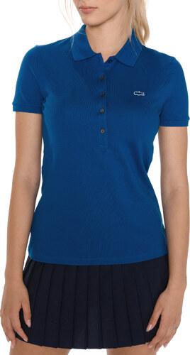 Női Lacoste Teniszpóló Kék - Glami.hu 98a5159100