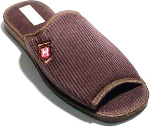 1eb15290d532c Pánske papuče Natural Style NS 252 Hneda 42 - Glami.sk