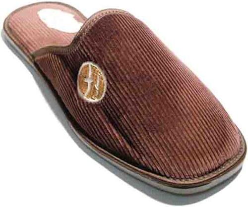 6f67eab468ab1 Pánske papuče Natural Style NS 500 Hneda 41 - Glami.sk