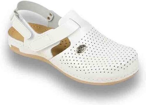 ad12d490f8fb Dámska kožená obuv - zdravotné papuče LEON vz. 951 36 - Glami.sk