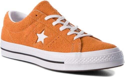 dce485c4c37fb Tenisky CONVERSE - One Star Ox 161574C Bold Mandarine/White/White ...