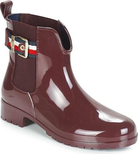 -5% -30% Tommy Hilfiger Čižmy do dažďa CORPORATE BELT RAIN BOOT Tommy  Hilfiger 65f00548ee7