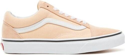Dámské boty Vans OLD SKOOL BLEACHED APRICOT TRUE WHITE 38 149c9ba4fd