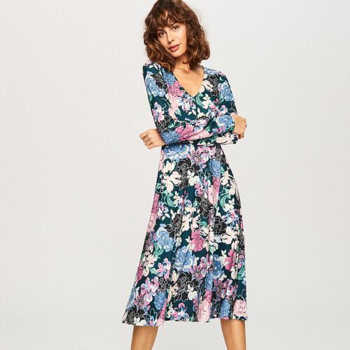 3ab9e5b02c Reserved - Virágos ruha - Többszínű - Glami.hu