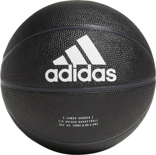 16af236329a80 Basketbalová lopta adidas Performance HARDEN MINI BAL (Čierna / Biela /  Šedá)
