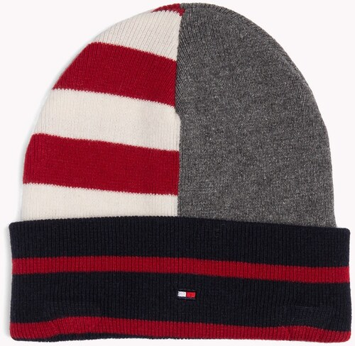 Tommy Hilfiger farebná pánska čiapka Seasonal Stripe Bean - Glami.sk 86924d47c98