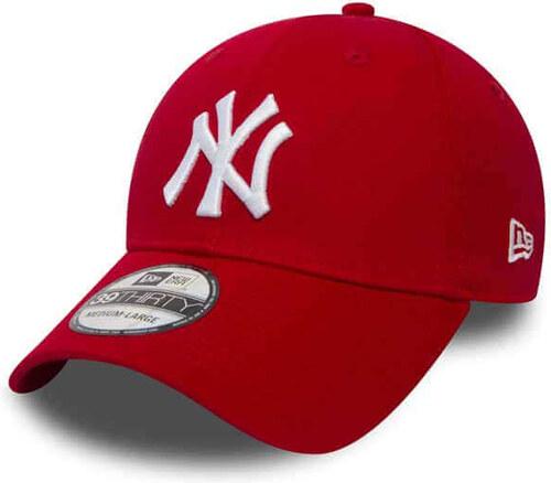 8ed268d12 Šiltovka New Era 9Forty MLB League Basic NY Yankees Scarlet White ...