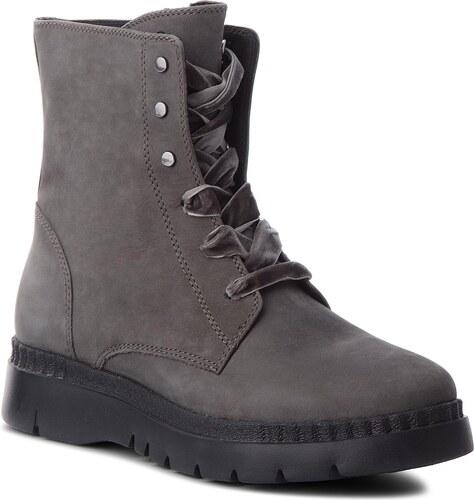 f82bd79f920 Členková obuv GEOX - D Emsley E D747BE 00032 C9002 Dk Grey - Glami.sk