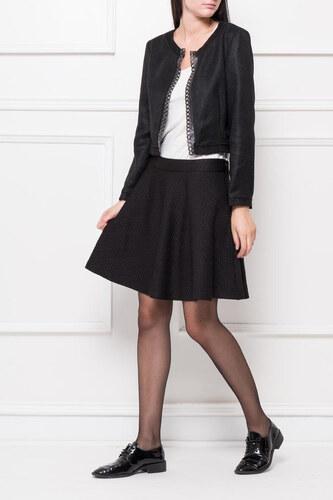 9d207eee0a90 Rouzit Dámska krátka čierna sukňa - Glami.sk
