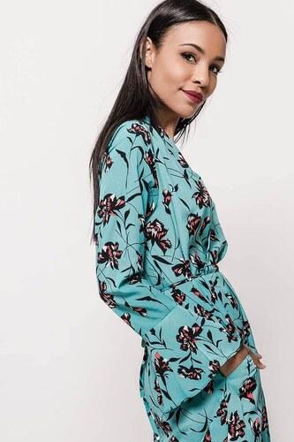 Rouzit Dámske midi letné šaty s kvetinovou potlačou - Glami.sk 34e4d202770