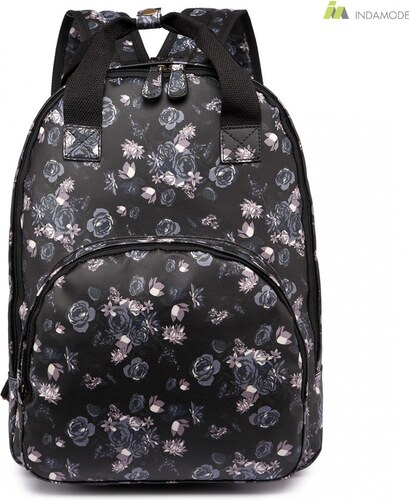 1d77b68fa169 Miss Lulu Nagy és praktikus elegáns női hátizsák iskolatáska MissLulu LG1658