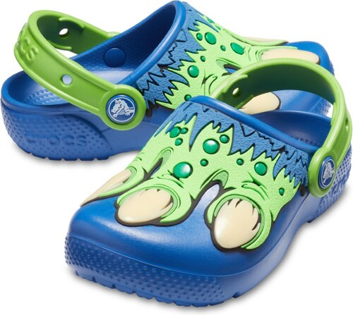 Crocs modré šľapky Fun Lab Creature Clog Blue Jean - Glami.sk 39756453a0