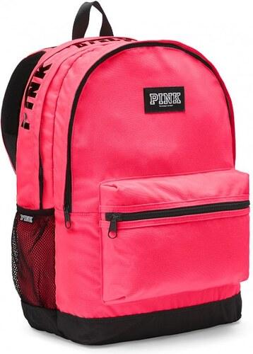 Victoria s Secret Victoria s Secret PINK pohodlný růžový batoh Campus  Backpack 19f001f3eb