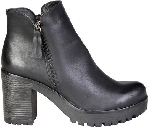 93205516ad45 ANA LUBLIN Dámské kotníčkové boty na platformě Ana Lublin Černá ...