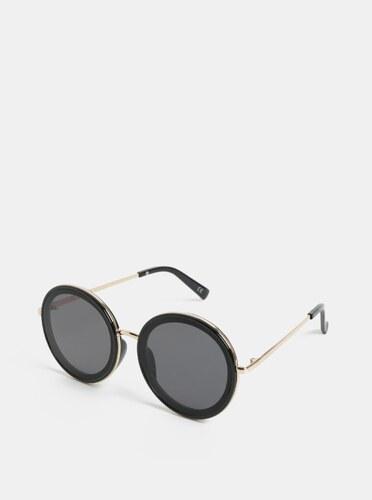 Čierne dámske okrúhle slnečné okuliare Jeepers Peepers - Glami.sk d833bdd3c76