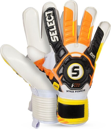 Select Goalkeeper gloves 55 Xtra Force černo žlutá - Glami.cz 009c9c422f