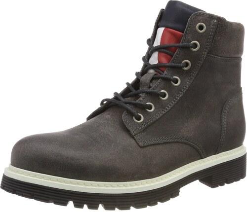 50% Preis schnüren in mehr Fotos Hilfiger Denim Herren Iconic Tommy Jeans Suede Combat Boots ...