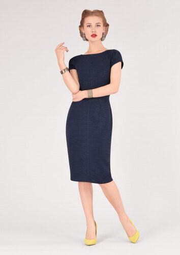 Tmavě modré pouzdrové šaty Closet Deborah - Glami.cz b36e148c13