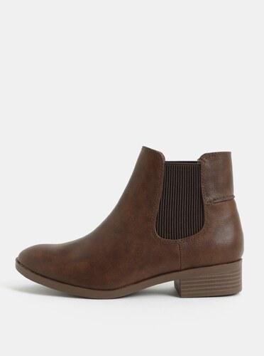 8c112c4e79d1 Hnedé chelsea topánky Dorothy Perkins Monty - Glami.sk