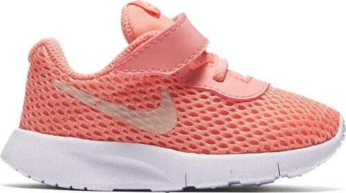 Nike Tanjun Trainers Infant Girls Pink Red - Glami.cz f4b0bf17be0