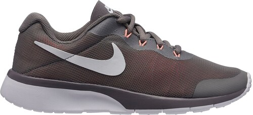 info for 109dc a578e Nike Tanjun Racer Trainers Junior Girls Grey White Pink
