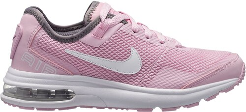 size 40 f68df 3ef2b Nike Air Max LB Trainers Junior Girls Pink White