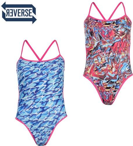 76244335fcf Dámske plavky Speedo Flip Reversible Swimsuit Ladies - Glami.sk