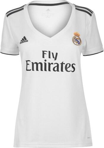20aad2037cfb2 adidas Real Madrid Home Shirt 2018 2019 Ladies White/Black - Glami.cz