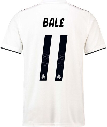12ab29b07 Fotbalový dres adidas Real Madrid Gareth Bale Home Shirt 2018 2019 ...