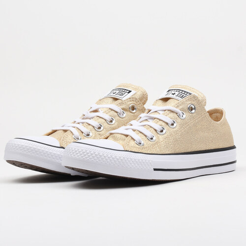 Converse Chuck Taylor All Star OX light twine   white   black - Glami.cz ccdee369de