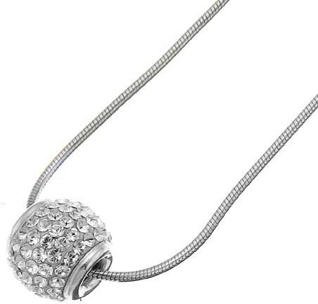 Strieborný prívesok s krištáľmi Swarovski Oliver Weber Ball Crystal ... fc656c57001