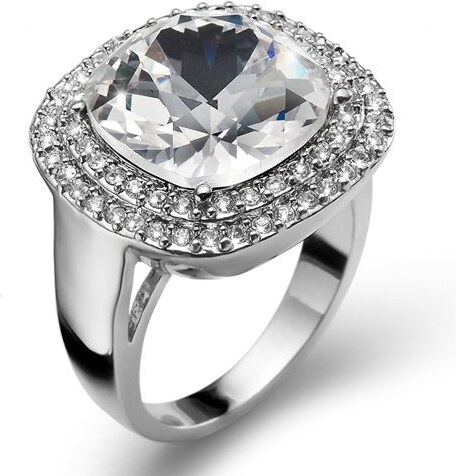 Prsteň s krištáľmi Swarovski Oliver Weber Autentic Crystal 52 mm ... 53d61be012c