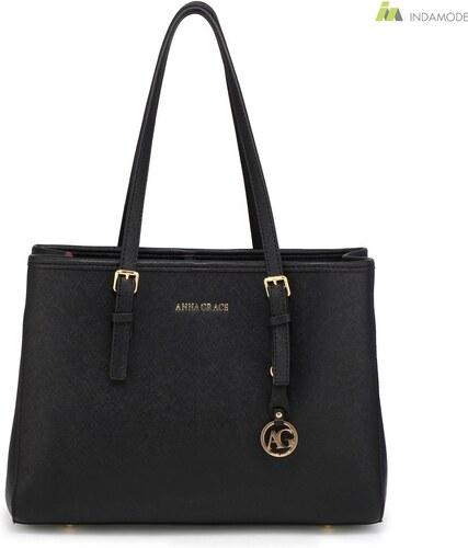Anna Grace fekete színű női divat táska 2018-as modell - Glami.hu 88cec2030c
