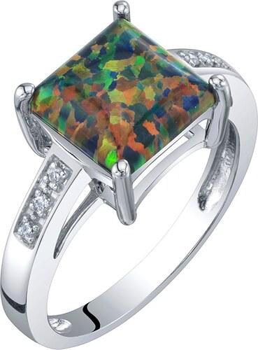 Eppi Zlatý opálový prsten s černým kamenem a diamanty Haydn - Glami.cz 22d2b3fc85a