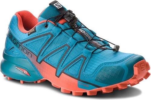 Boty SALOMON - Speedcross 4 Gtx GORE-TEX 404665 27 G0 Fjord Blue Cherry 32e27cc5a1