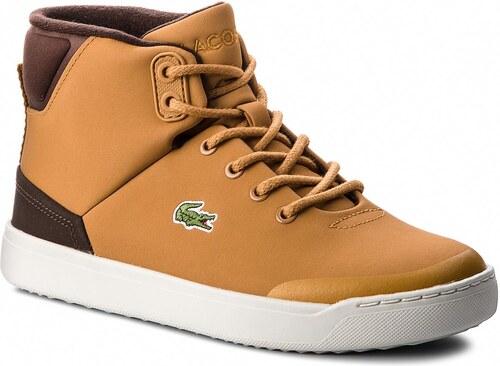 Sneakersy LACOSTE - Explorateur Classic3181CAJ 7-36CAJ0006434 Dk Tan Dk Brw 7fcae2dd2f3