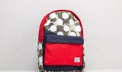 e94b677334f7 Herschel Supply Co. Classic Backpack Frog Camo  Barbados Cherry  Polka Dot