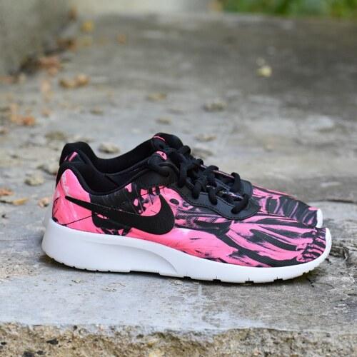 Nike TANJUN PRINT (GS) Dětské boty 833668-002 - Glami.cz 48464c2a00