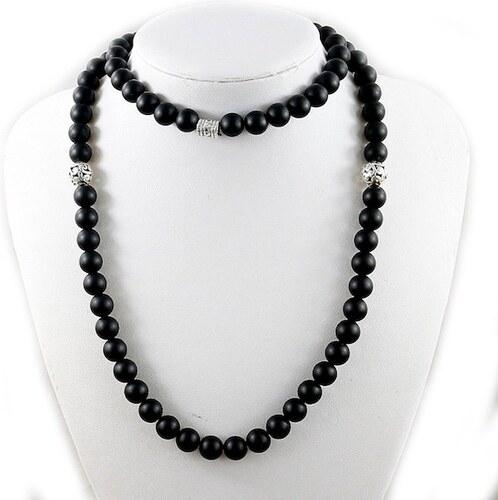 74e87872540c B-TOP Pánský módní náhrdelník MALA - čierny - Glami.sk