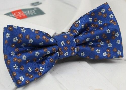 4d7951f8e1 Kék virág mintás csokornyakkendő - Glami.hu