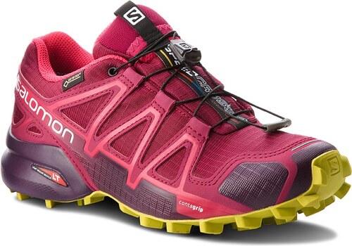Topánky SALOMON - Speedcross 4 Gtx GORE-TEX 404666 22 G0 Beet Red Poten d555183c913