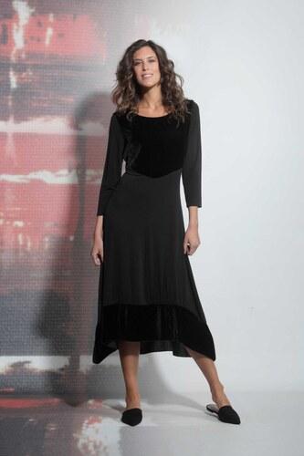 Deha fekete hosszú maxi ruha - Glami.hu 32a0faf1dc