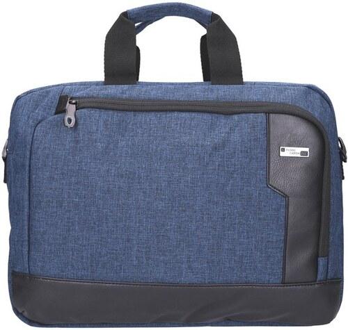f46057f6d3 Modrá pánská taška na rameno Pierre Cardin na notebook až 14