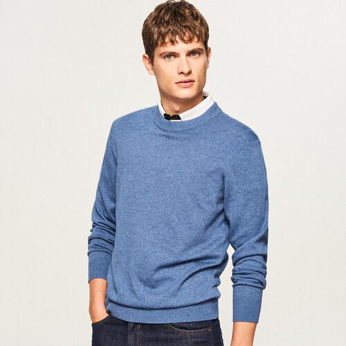 1d0069ce17 Reserved - Egyszínű pulóver - Kék - Glami.hu