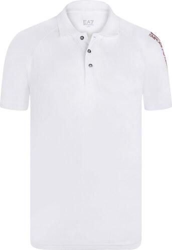 e0dd463fb1 Bílá luxusní polokošile od Emporio Armani - Glami.cz