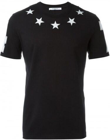 f0214e727c Černé regular fit tričko Givenchy - Glami.cz