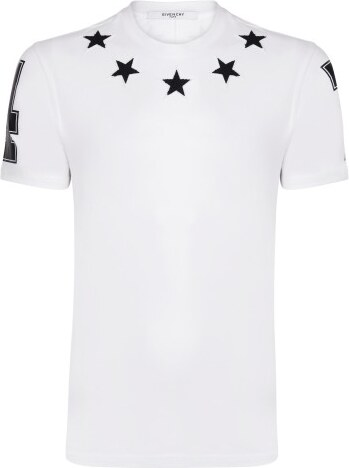 ae35bbecc2 Bílé regular fit tričko Givenchy - Glami.cz
