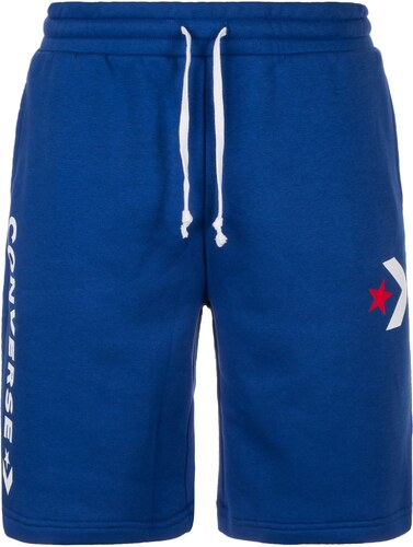 b478404c5fa CONVERSE Kalhoty  Star Chevron Graphic  modrá   světle červená   bílá